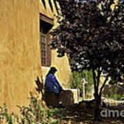 Santa Fe Afternoon - New Mexico Art Print