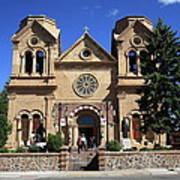 Santa Fe - Basilica Of St. Francis Of Assisi Art Print
