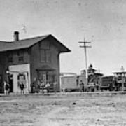 Santa Fe Railway, 1883 Art Print