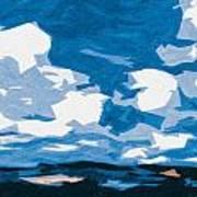 Santa Fe Skies Art Print
