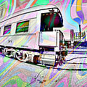 Santa Fe Train Number 37 Art Print