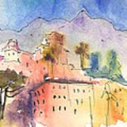 Santa Margherita In Italy 01 Art Print