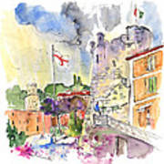 Santa Margherita In Italy 07 Art Print