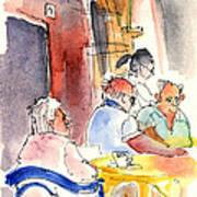 Santa Margherita In Italy 09 Art Print