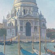 Santa Maria Della Salute Art Print by Julian Barrow