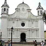 Santa Rosa Cathedral Art Print