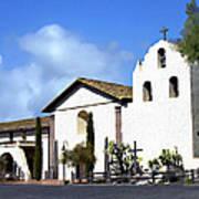 Santa Ynez Mission Solvang California Art Print