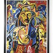 Santana Album Cover Art Print