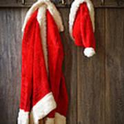 Santa's Coat Art Print