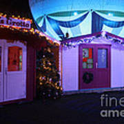 Santa's Grotto In The Winter Gardens Bournemouth Art Print