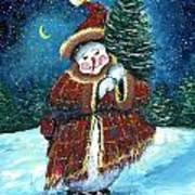 Santas Helper Art Print
