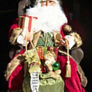 Santa's List Two Art Print