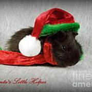 Santa's Little Helper Art Print