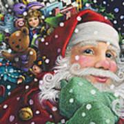 Santa's Toys Art Print