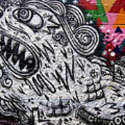 Sao Paulo Graffiti Vii Art Print by Julie Niemela
