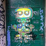 Sao Paulo Green Door II Art Print