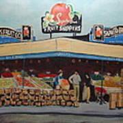 Saprito Bros. Fruit Company Art Print
