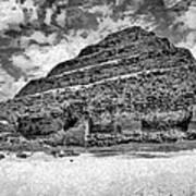 Saqqara Pyramid Art Print by George Rossidis