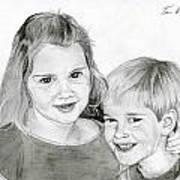 Sarah And Matt Art Print