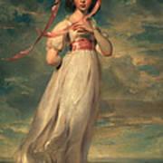 Sarah Goodwin Barrett Moulton Pinie 1794 Art Print