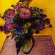 Sarah's Sweet 16 Flowers Art Print