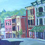 Saranac Lake Ny-sunday Morning Art Print