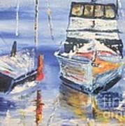 Sarasota Florida Marina Art Print