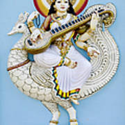 Saraswati Art Print by Tim Gainey