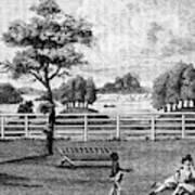 Saratoga, New York, 1794 Art Print