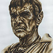 Sarek Star Trek Art Print