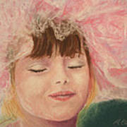 Sassy In Tulle Art Print by Marna Edwards Flavell