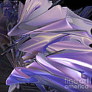 Satin Wing By Jammer Art Print