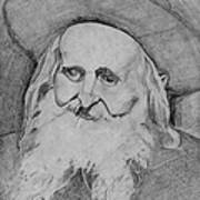 Satmar Rebbe Art Print