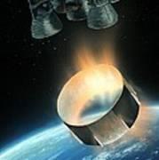 Saturn V Interstage Separation, Artwork Art Print