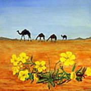 Saudi Arabian Desert Art Print
