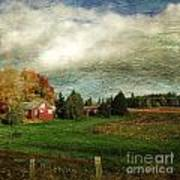 Sauvie Island Farm Art Print