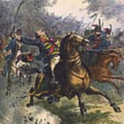 Savannah: Pulaski, 1779 Art Print
