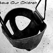 Save Our Children Art Print