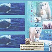 Save The Polar Bear Now Or Never Art Print