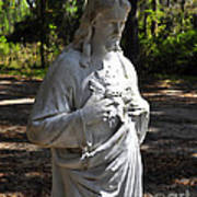 Savior Statue Art Print by Al Powell Photography USA