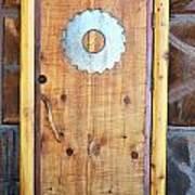 Sawmill Door Art Print