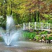Sayen Garden Impression Art Print