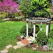 Sayen Garden Spring Art Print