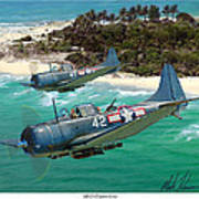 Sbd Dauntless Art Print
