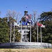Sc Veterans Monument Art Print
