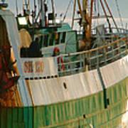 Scarborough Sailing Art Print