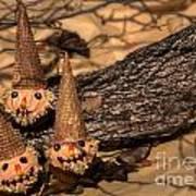 Scarecrow Cupcakes Art Print