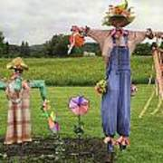 Scarecrows Art Print