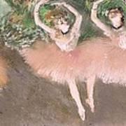 Scene De Ballet Art Print