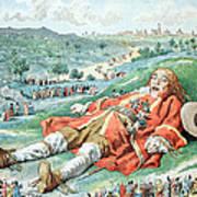 Scene From Gullivers Travels Art Print